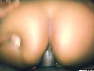 Ebony Amateur Couple Have Anal Sex On Live Webcam