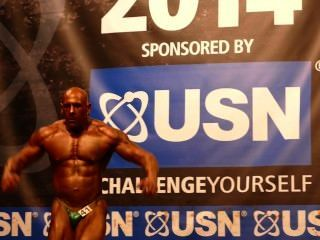 Roidgutted Muscledad Kieran - Nabba Universe 2014