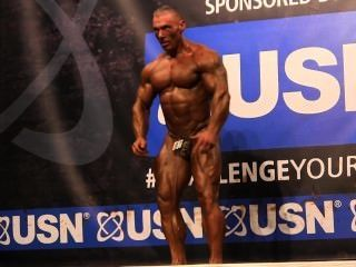 Muscledad Andy Polhill (sco), Nabba Universe 2014