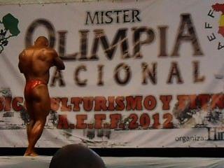 Muscledad Xisco Olimpia Nacional Aeff 2012
