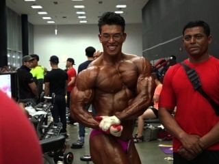 Backstage Musclebull - Wff Universe Championships In Seoul