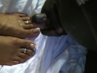 Candy Cum Soaked Feet 2