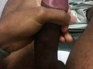 Bathroom Masturbation