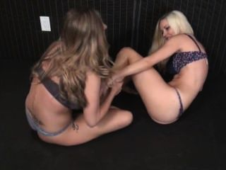 Keri Spectrum Vs Danielle Trixie Tickle Match