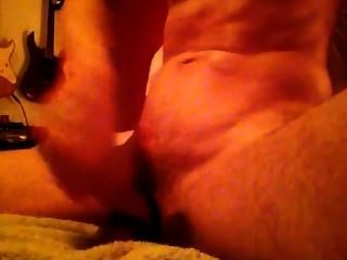 Horny Dude Jerks Sloppy Big Dick And Cums Hard