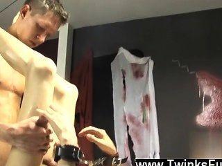 Hot Gay Roxy Likes Every Minute Of This Wonderful Restrain Bondage Scene