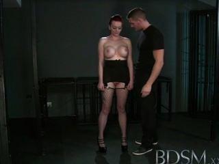 Redhead Does Bondage
