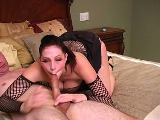 Gianna Rushes To Make Him Cum