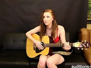 guitar lesson girl Nude
