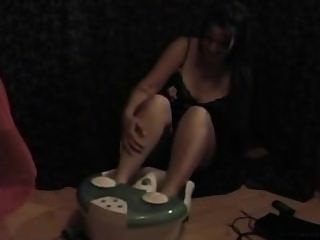 Foot Spa Tickling