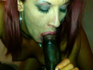 Latina Sucks Bbc And Gets A Mouthful Of Cum