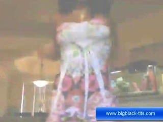 Ebony Hot Babe Masturbation For All Of You