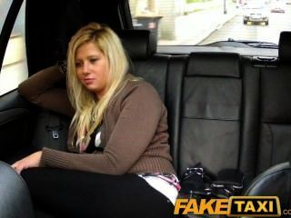 Faketaxi Blonde Has Sex From Behind In Taxi