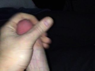 Teen Male Stroking His Hard Cock