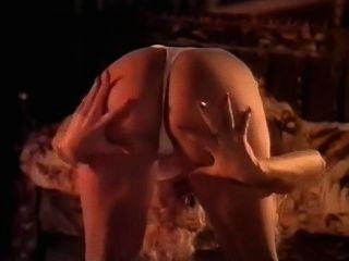 Blonde Strip Dance