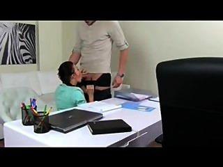 Femaleagent Sexy Milf Agent Seduces And Fucks Hand