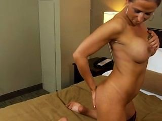 Sexy Swinger Milf Does Her First Porn