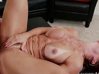Shapely Milf Janet Mason Took His Boner From The Rear