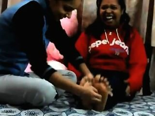Indian Foot Tickling - Niki