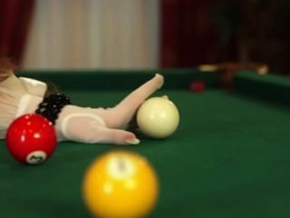 """billiards"" Many Exclusive Erotica On The Website - Www.candytv.eu"