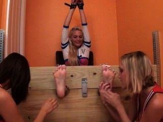 Cheerleader Tickling