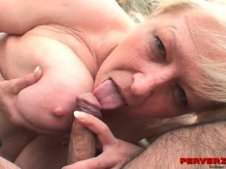 A Granny And Her Husband Fuck A Teen