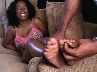 Ebony Whitney Tickled Sole