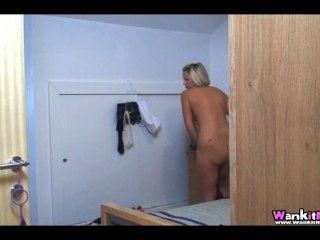 Anna Joy Sister Spying Joi
