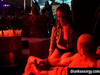 Party Babes Suck And Fuck Large Dicks