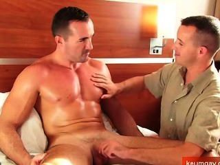 A Sexy Mature Sport Guy Get Sucked By Friend In Hotel Room In Spite Of Him!