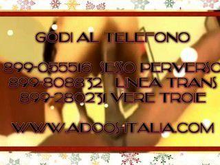 Godi Con Le Troie Volgari Al Telefono 899.077.609