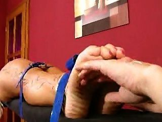 Blonde Simonne Is Tickled.mpg