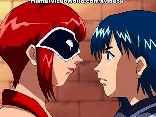 Lesbian Hentai
