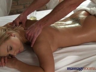 Massage Rooms Big Tits Teen Gets Deep Fucking From Masseur With Hard Cock
