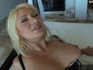 Busty Model Blonde Pov