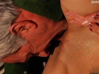 Horny Pussy Awesome Handjob