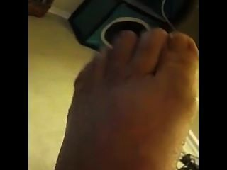 Friend Wiggled Her Toes