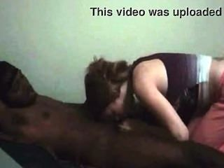 White Women Suck Small Black Dick