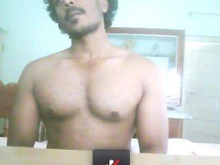 Mallu Guy Showing His Wank