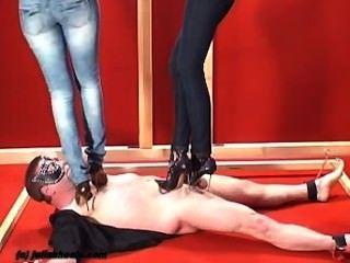 2 Women Trampling Slave