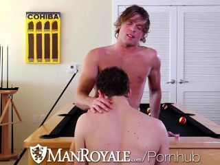 Hd - Manroyale Max Gets Pounded By Morgan Before Morgan Explodes