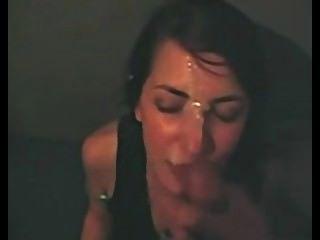 Sexy Babe Gets A Cum Facial