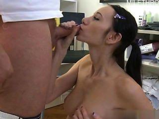 Hot Girlfriend First Anal Sex