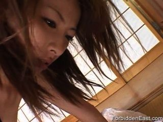 Sexy Japanese Babe Given 69 With Sex Toys