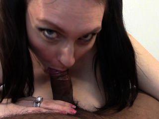 Big Tit Girlfriend Blowjob