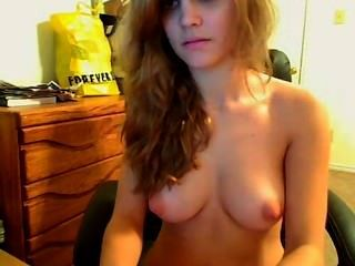 Cute Redhead With Cute Breasts