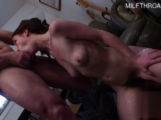 Horny Daughter Home Blowjob