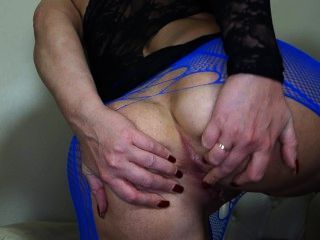 Sookie Blues Anal Stretching Pump Up Dildo, Fingers, Toys. Solo Milf