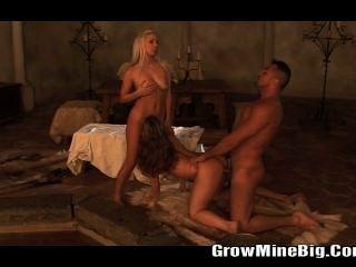 Huge Cock Fucking Teen Sister Brunette