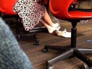 Feet Of An Hot White Girl